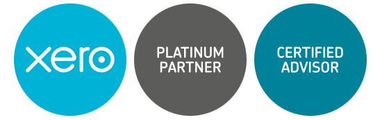xero platinum partner logo certified adviser
