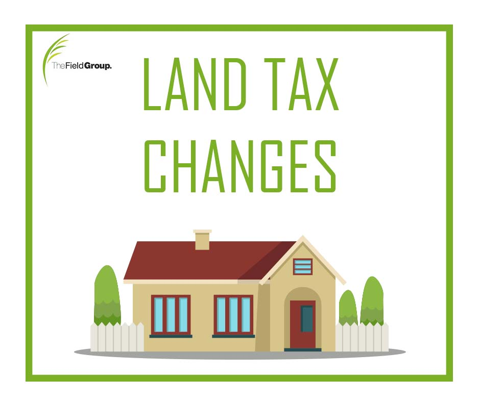 LAND TAX CHANGES