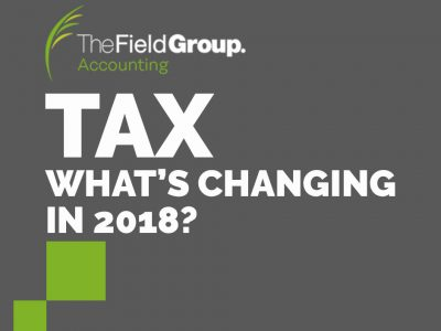 Australian Tax What's changing in 2018 the field group