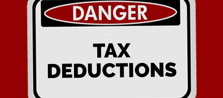 danger tax deductions ato the field group accountants
