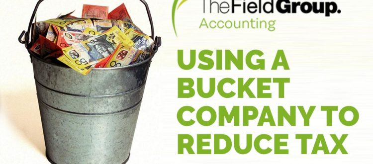 bucket company to reduce tax the field group
